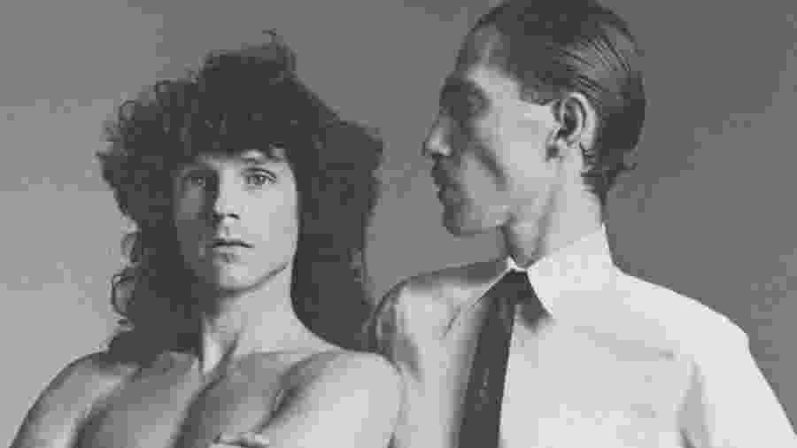 A banda norte-americana Sparks - Reprodução