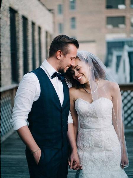 Os noivos Kevin e Jess Kennedy - Reprodução/Instagram/kkennedyryan