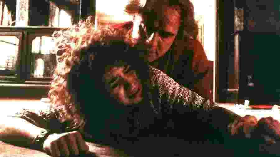 """A cena da manteiga em """"Último Tango em Paris"""" (1972) - Reprodução"""