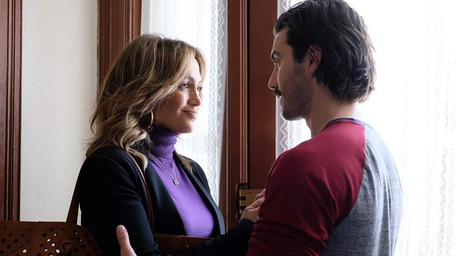 """Jennifer Lopez e Milo Ventimiglia em cena de """"Uma Nova Chance"""" - Reprodução"""