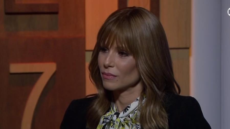 """Ana Furtado em entrevista ao programa """"Diálogos"""" - Reprodução/GloboNews"""