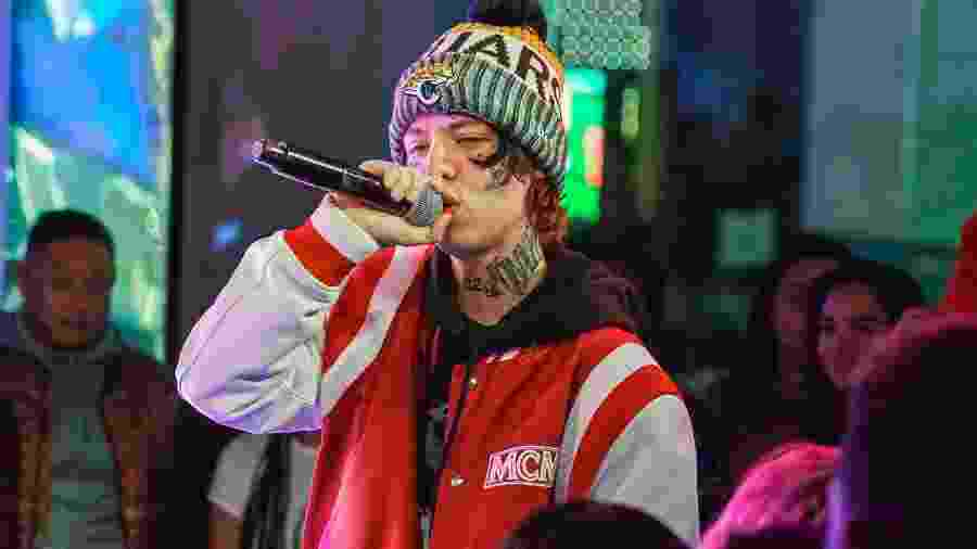 O rapper Lil Xan, 22 anos - Getty Images