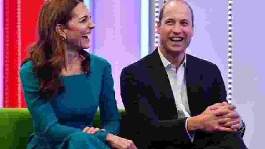"""Em discurso dado na sede da BBC, em Londres, o Duque de Cambridge disse que redes sociais permitiram que """"desinformação e conspirações poluíssem o espaço público"""" - Getty Images/BBC"""