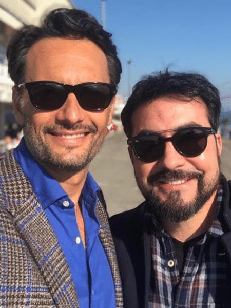 Rodrigo Santoro e padre Fabio de Melo - Reprodução/Instagram
