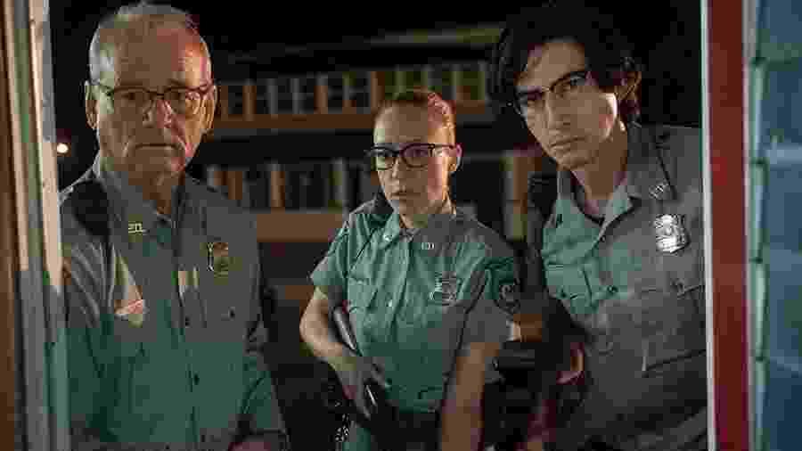 Bill Murray, Chloë Sevigny e Adam Driver em cena do filme - Reprodução