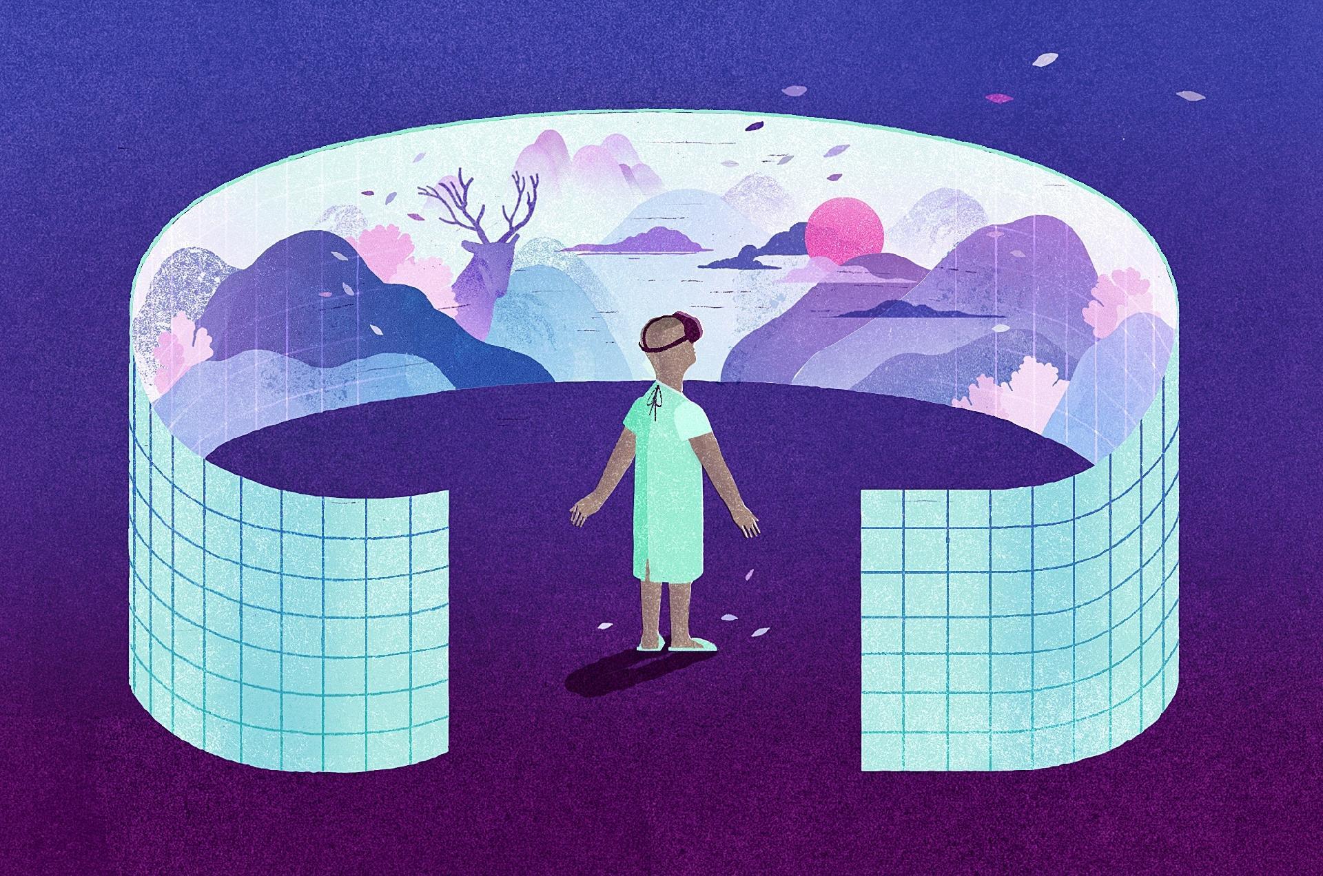 Como a realidade virtual é usada na terapia contra a dor - 04/05/2019 - UOL  VivaBem