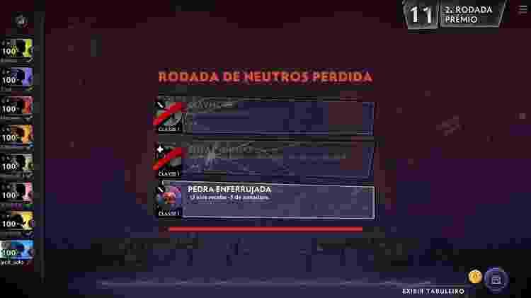 Dota Underlords Itens - Reprodução - Reprodução