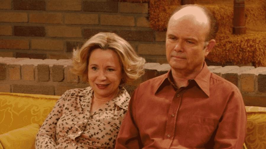 """Debra Jo Rupp e Kurtwood Smith em cena de That """"70s Show  - Reprodução"""