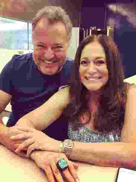 Susana Vieira ao lado do filho, Rodrigo Vieira - Reprodução/Instagram - Reprodução/Instagram