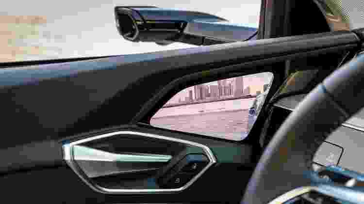 Audi e-tron retrovisor câmera - Divulgação - Divulgação