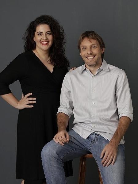 Roberta Faria e Rodrigo Pipponzi são os idealizadores da Editora MOL  - Divulgação