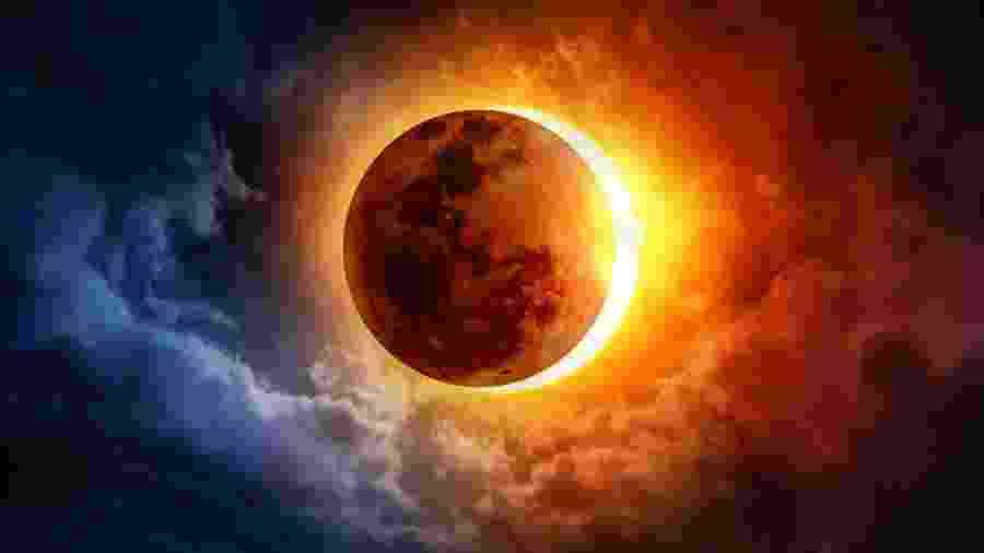 Eclipse de hoje é em Capricórnio - iStock