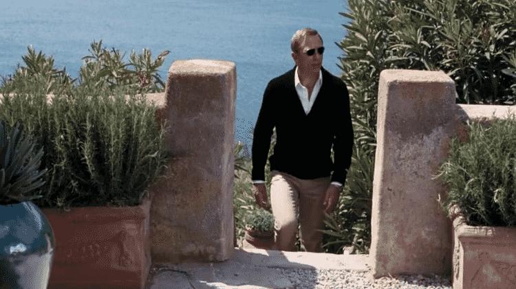 """O ator Daniel Craig em cena do filme """"007 - Quantum of Solace"""" - Reprodução"""