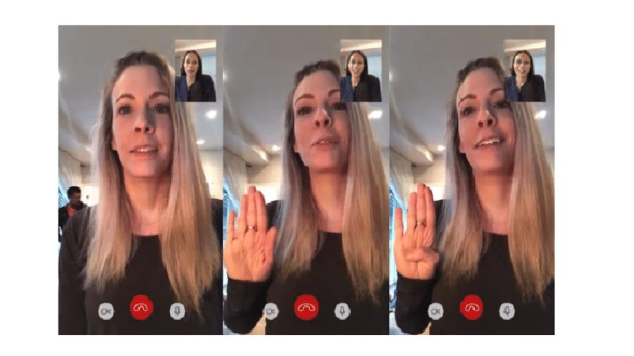 """Vídeo da Canadian Women""""s Foundation ensina sinal silencioso com a mão para denunciar violência doméstica - Reprodução/Instagram"""
