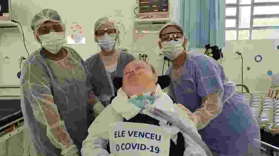 Washington é paciente com síndrome de Down acamado há 37 anos - Arquivo pessoal
