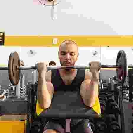 Breno musculação - Arquivo pessoal - Arquivo pessoal