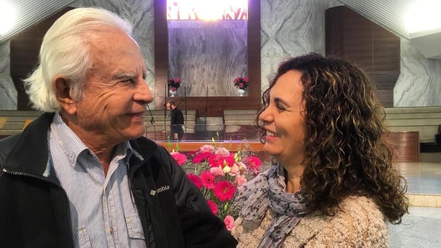 Cid Moreira e Fátima Sampaio: amor de mais de 20 anos - Rafael Godinho/UOL