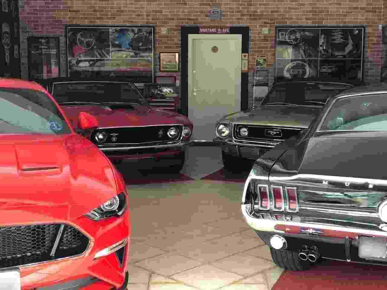Ford Mustang coleção Marcelo Simionato - Arquivo pessoal