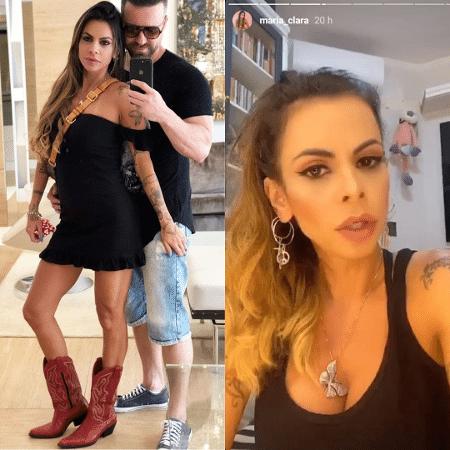 Maria Clara e Marlon - Reprodução/Instagram/@maria_clara