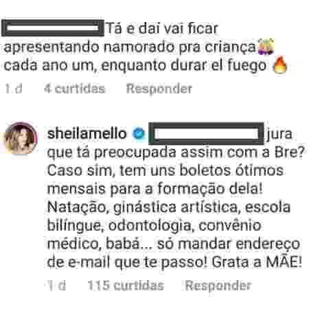 Sheila Mello - Reprodução/Instagram - Reprodução/Instagram