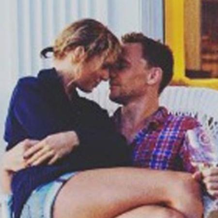 Taylor Swift e Tom Hiddleston em clique de 2016 - Reprodução