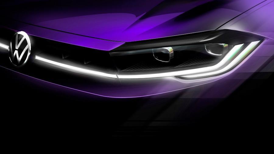 Dianteira terá novos faróis, com filete de LED que atravessa toda a extensão da grade; modelo será revelado dia 22 de abril - Divulgação