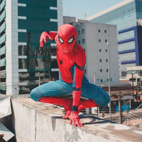 Spider Slack é Cleyton Santos, que tem mais de 20 milhões de seguidores no TikTok