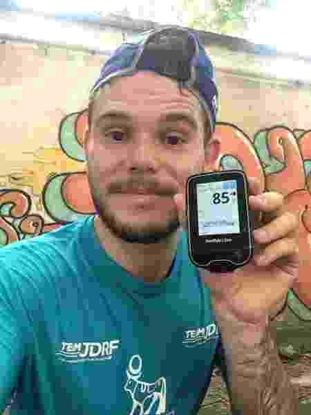 Bruno Helman, diabetes,  - Arquivo pessoal - Arquivo pessoal