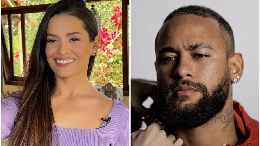 """Juliette """"cobra"""" óculos de Neymar e craque responde - Reprodução/Instagram"""