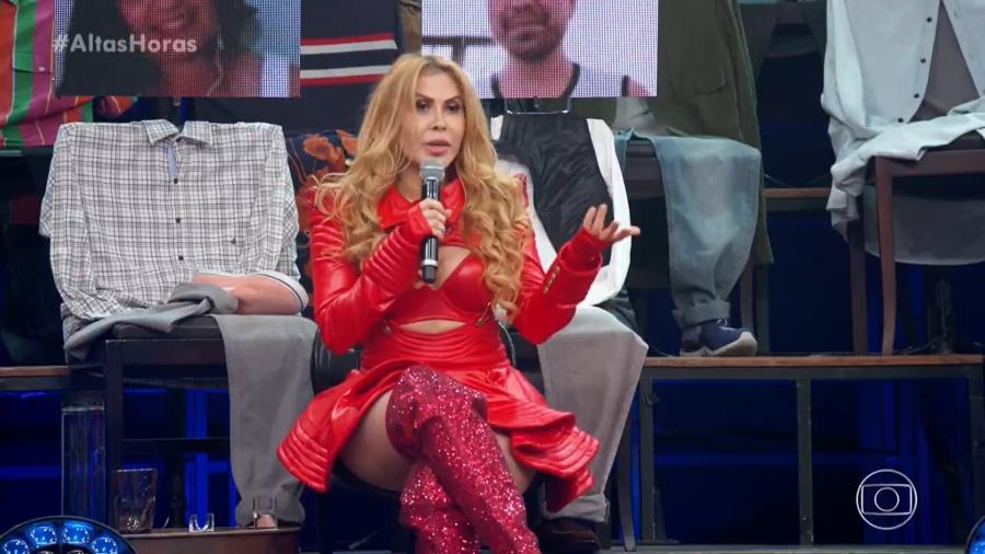 """Joelma participa do """"Altas Horas"""" - Reprodução/Globoplay"""