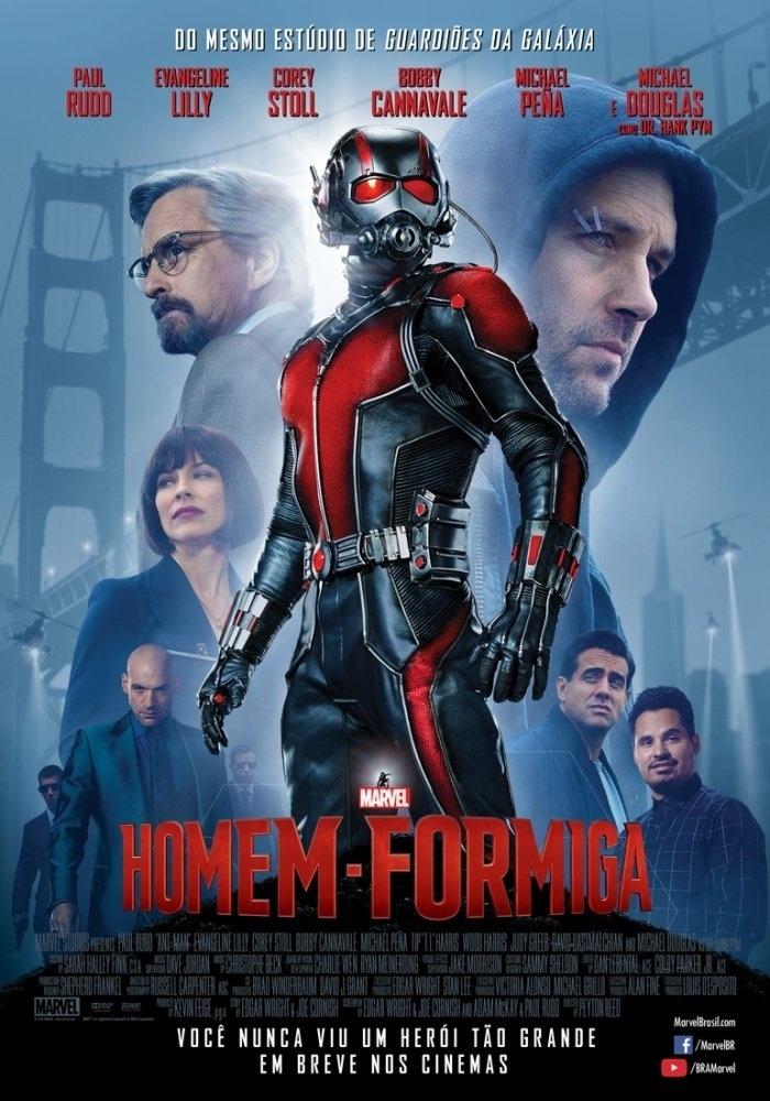 """Pôster do filme """"Homem-Formiga"""""""