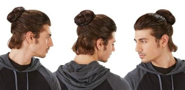 Aplique permite imitar penteados de celebridades com cabelo comprido, como David Beckham e Jared Leto - Divulgação/Groupon