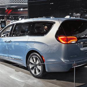 Chrysler Pacifica eHybrid - Murilo Góes/UOL