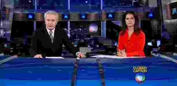 Celso Freitas e Adriana Araújo, âncoras do Jornal da Record - Reprodução/Record - Reprodução/Record
