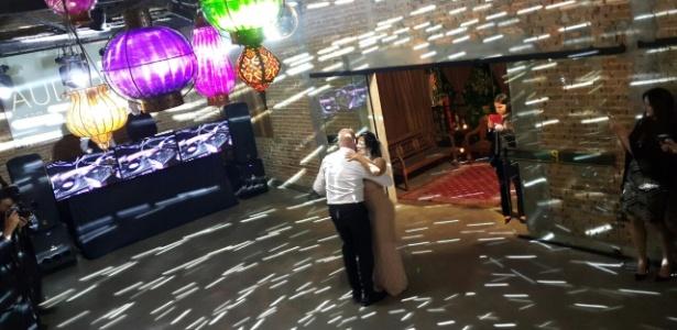 Gretchen e o empresário português Carlos Marques se casaram em São Bernardo do Campo - Divulgação
