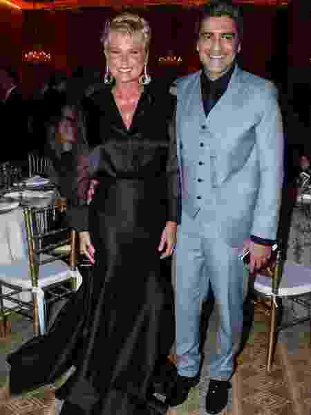 Xuxa e Junno Andrade - Manuela Scarpa/Brazil News
