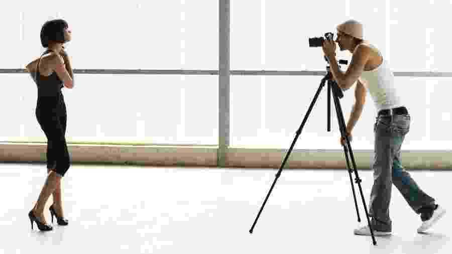 Sem contratos com agências, as modelos independentes estão à mercê de alguns fotógrafos - Getty Images