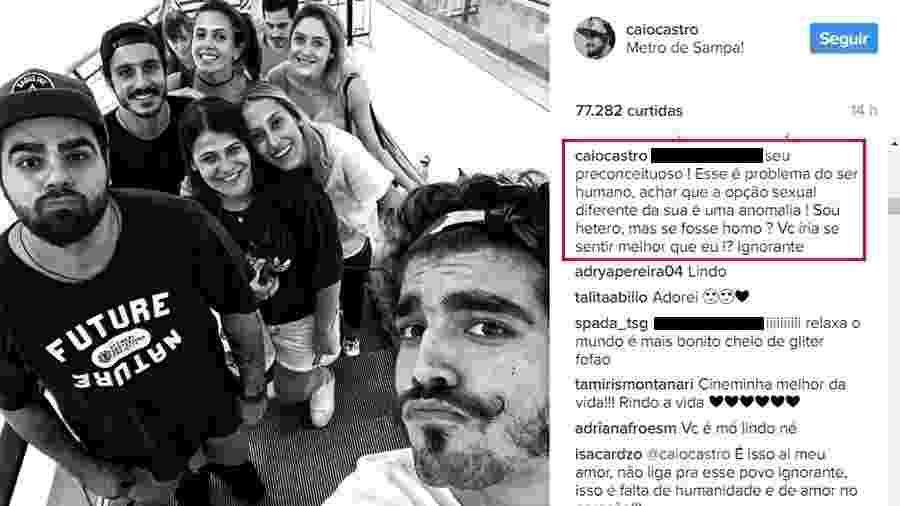 Reprodução/Instagram/caiocastro