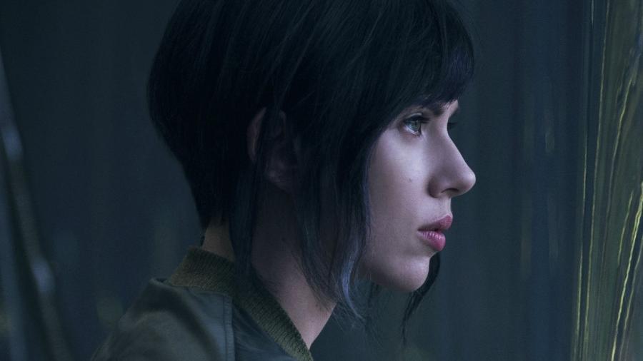 """Scarlet Johansson encarna a protagonista The Major no novo filme de """"Ghost in the Shell"""" - Divulgação/Paramount Pictures"""