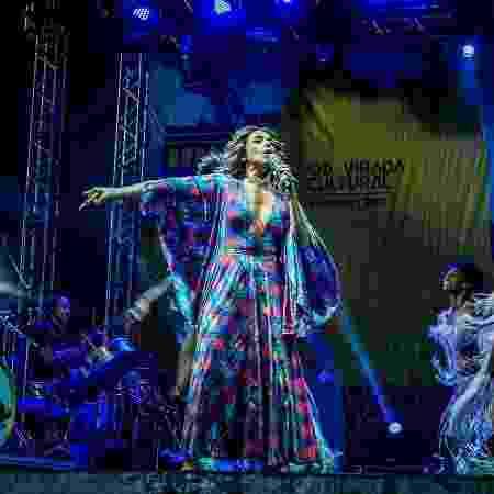 Daniela Mercury se apresenta na Virada Cultural no palco do Anhembi - Francisco Cepeda/AgNews - Francisco Cepeda/AgNews