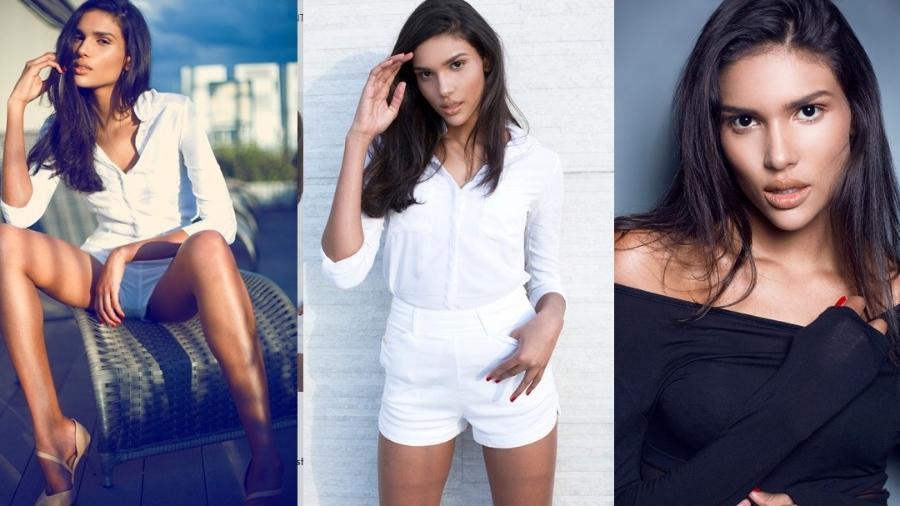 A modelo baiana Carol Caputo é apontada como novo affair de Neymar - Reprodução/Ford Models