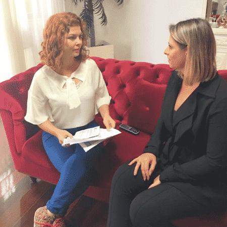 Bárbara Borges dá entrevista para a Record sobre o golpe que sofreu - Reprodução/Instagram/bbmaedobem