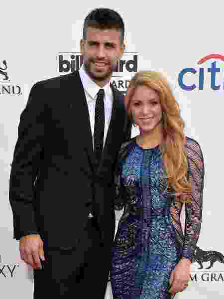 Shakira e Piqué - Getty Images