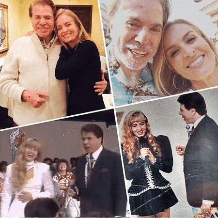 Angélica relembra vários momentos com Silvio Santos - Reprodução/Instagram/angelicaksy