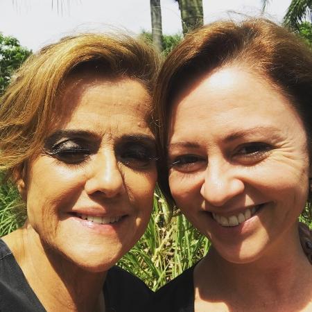Marieta Severo e Guta Stresser se reencontram - Reprodução/Instagram/gutastresser