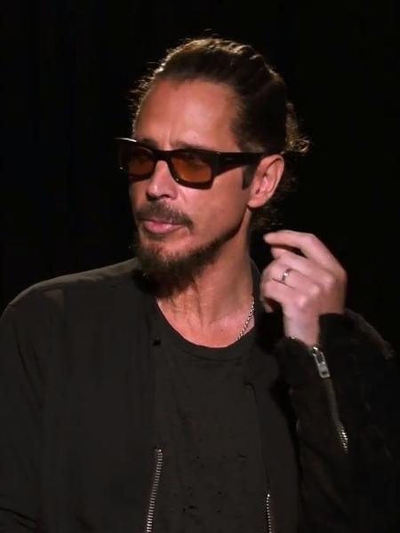O cantor Chris Cornell, que morreu em maio de 2017 - Reprodução