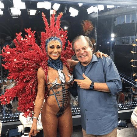Chico Pinheiro e Sabrina Sato - Reprodução/Instagram/chicopinheiros