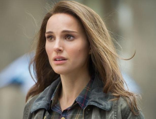 """Natalie Portman como Jane Foster na franquia """"Thor"""""""
