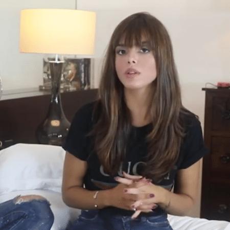 Giovanna Lancellotti é entrevistada por Matheus Mazzafera - Reprodução/Instagram