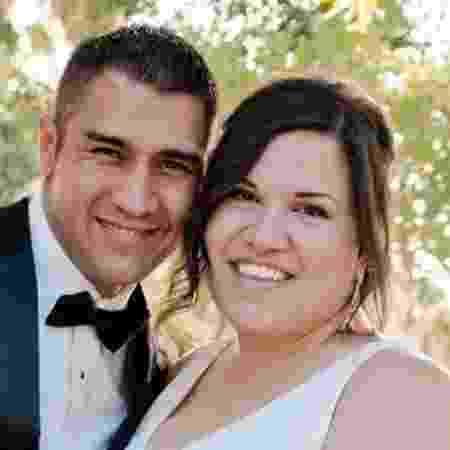 Adam e Raquel Gonzales estavam juntos havia cinco anos  - Arquivo pessoal